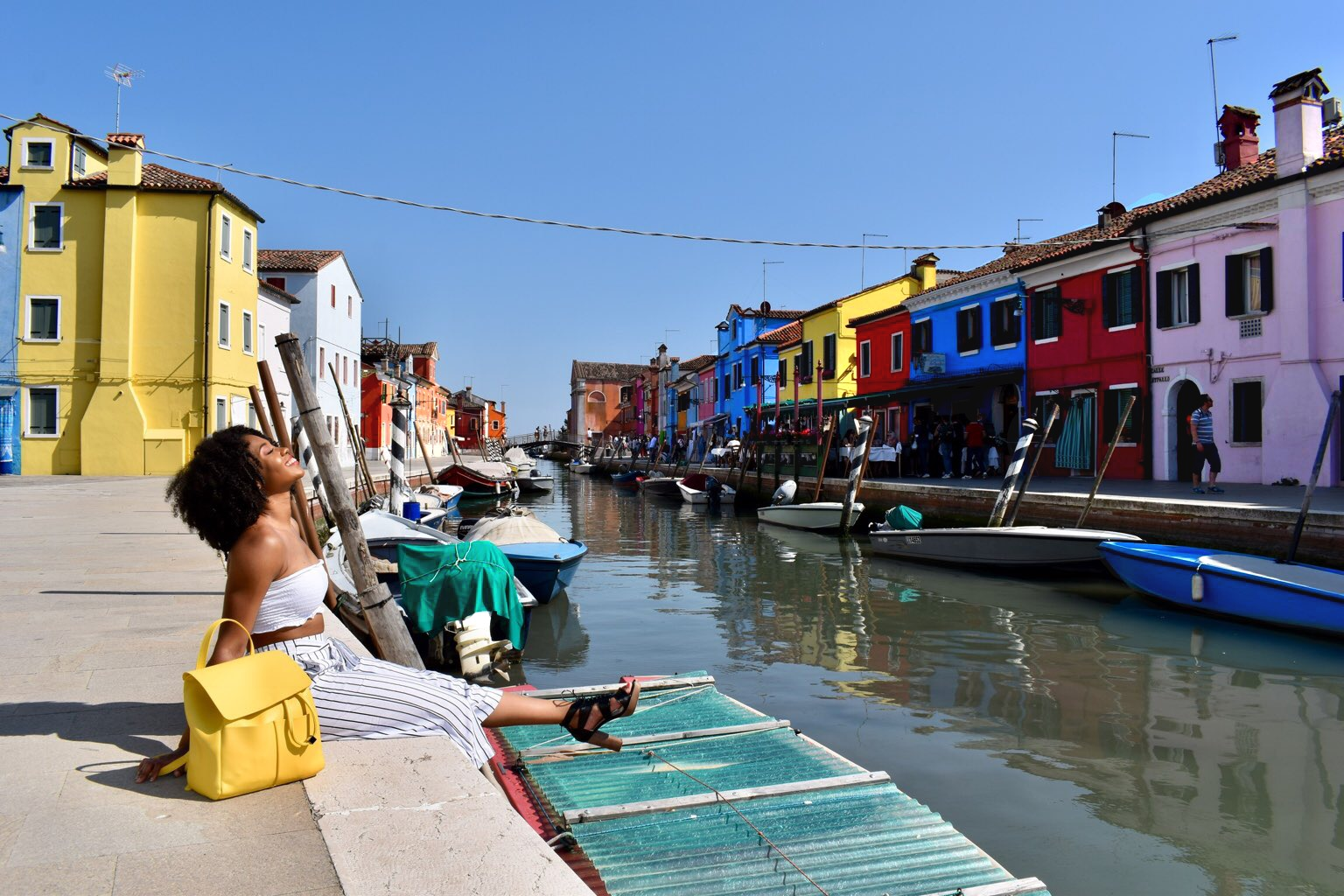 Just Being Britt Pregnancy Journey My First Trimester Venice Italy Burano