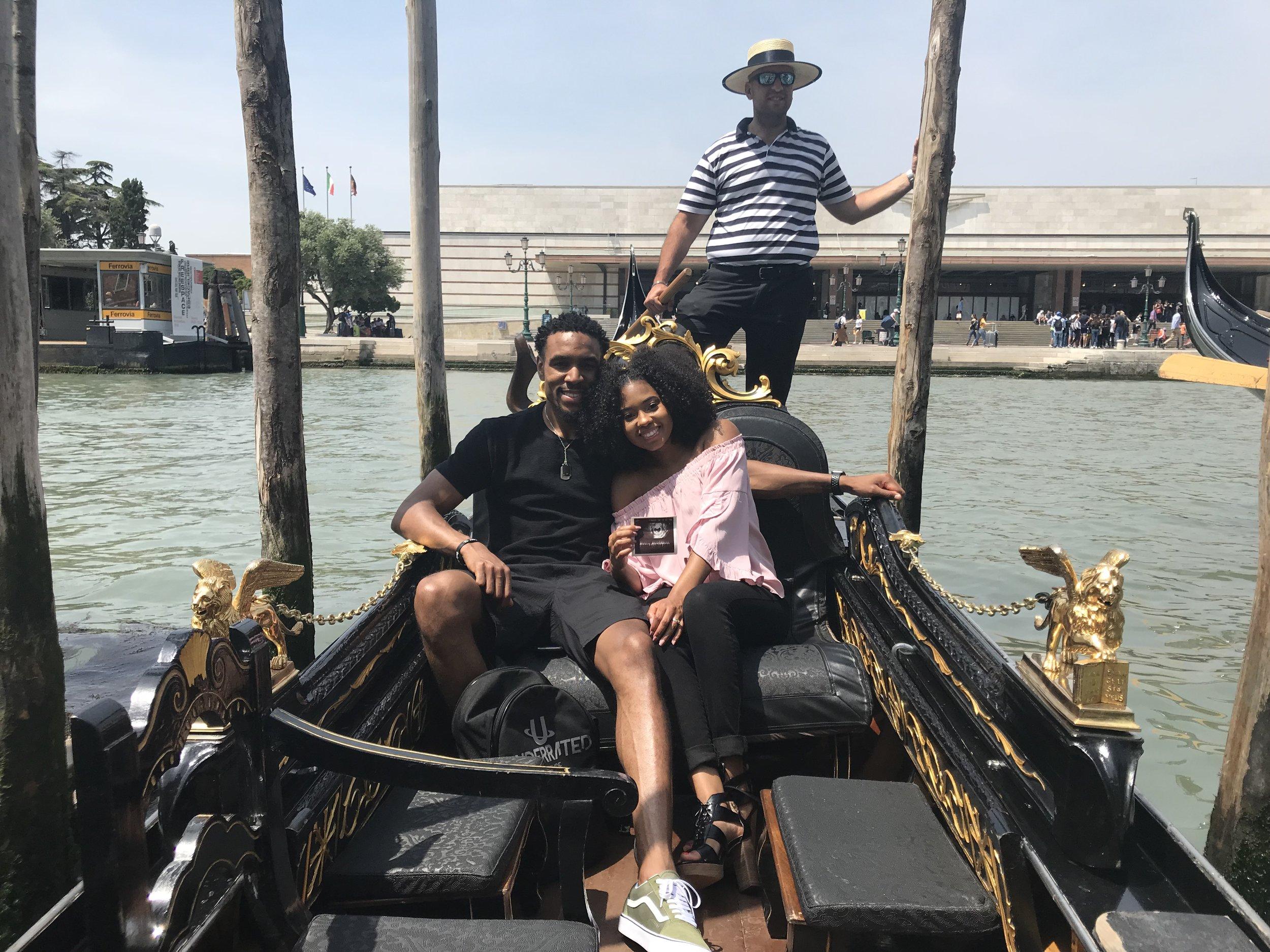 Just Being Britt Pregnancy Journey My First Trimester Venice Italy Gondola Ride
