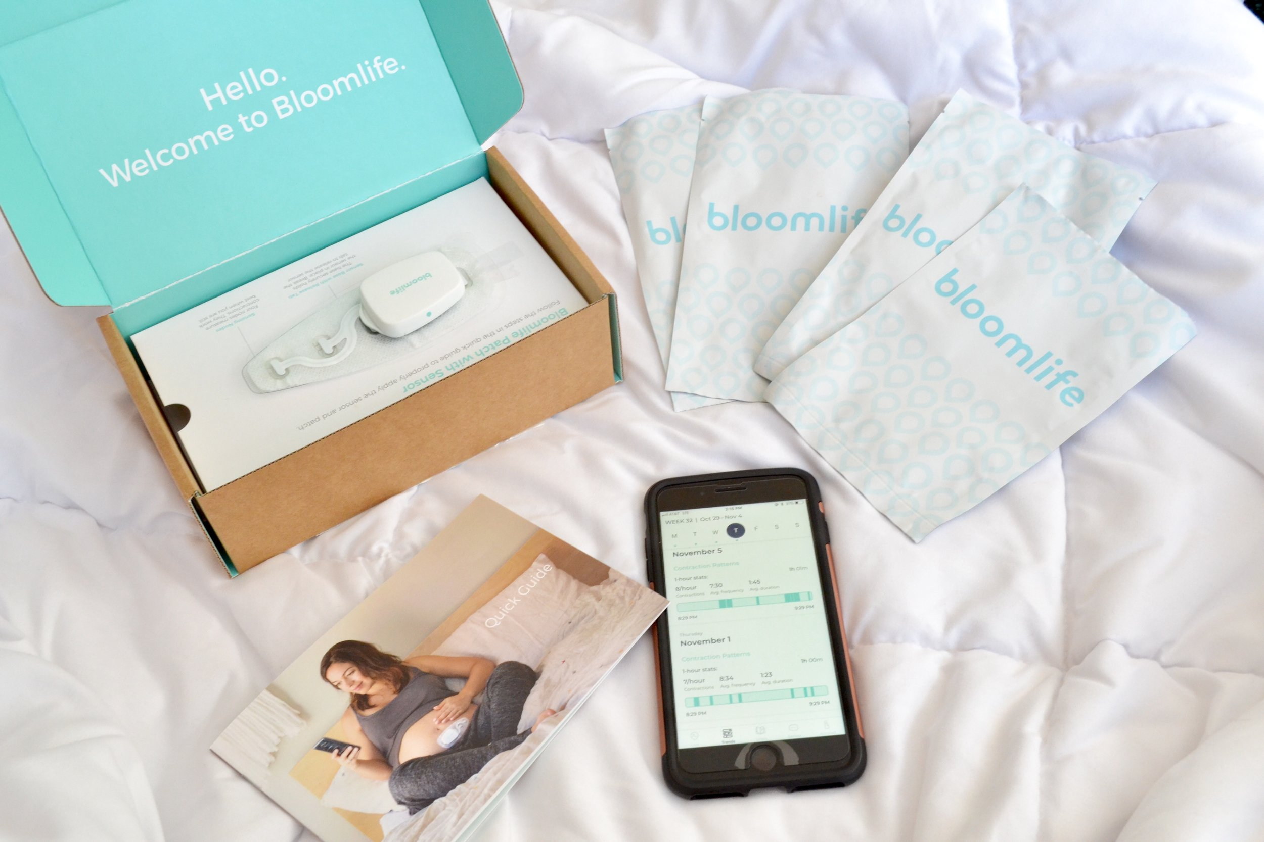 Just Being Britt Brittany Jenkins Pregnancy Journey Bloomlife review Bloom life pregnancy tracker