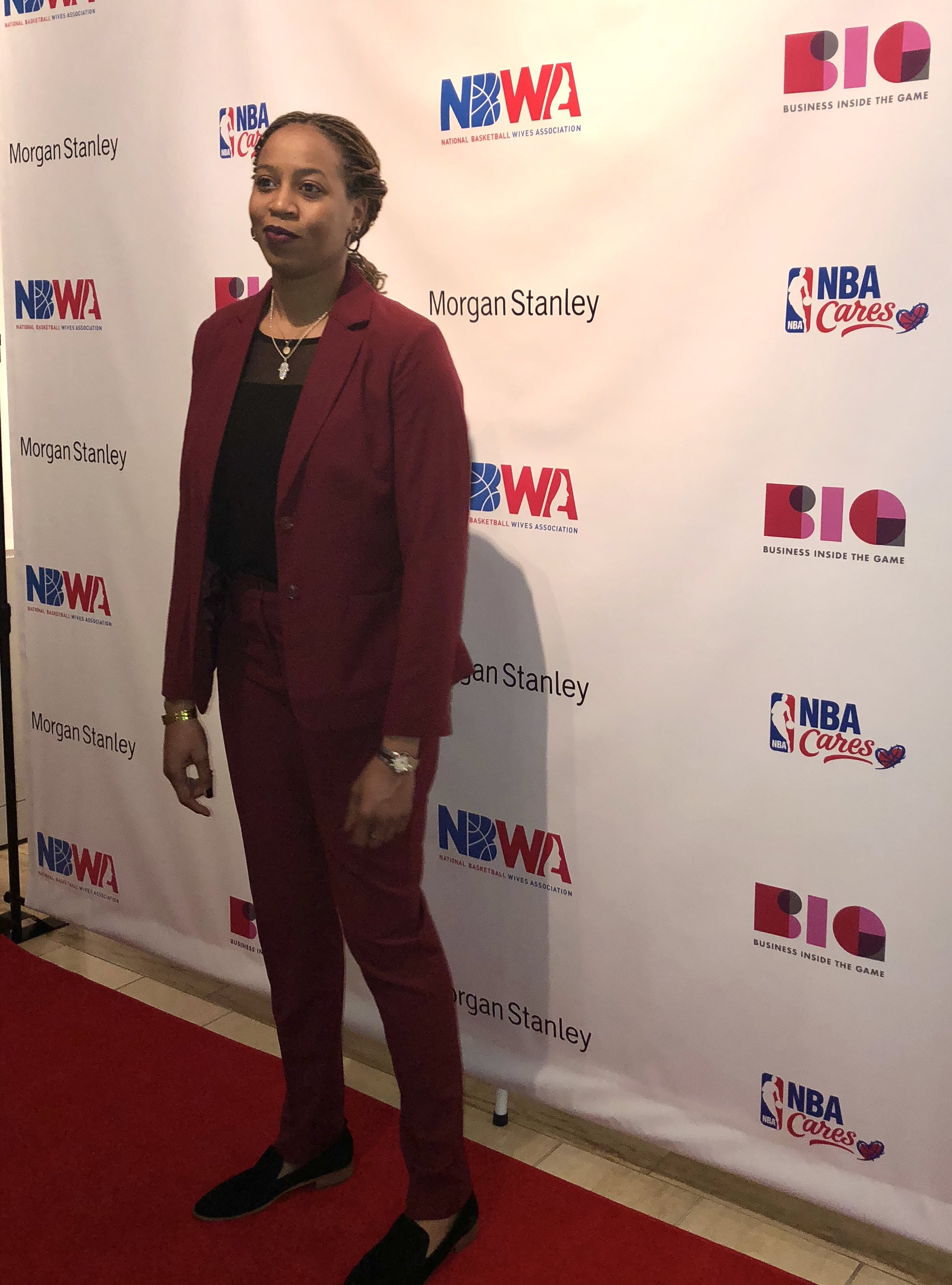 Just Being Britt JustBeingBritt NBWA National Basketball Wives Association Women's Empowerment Summit 2019