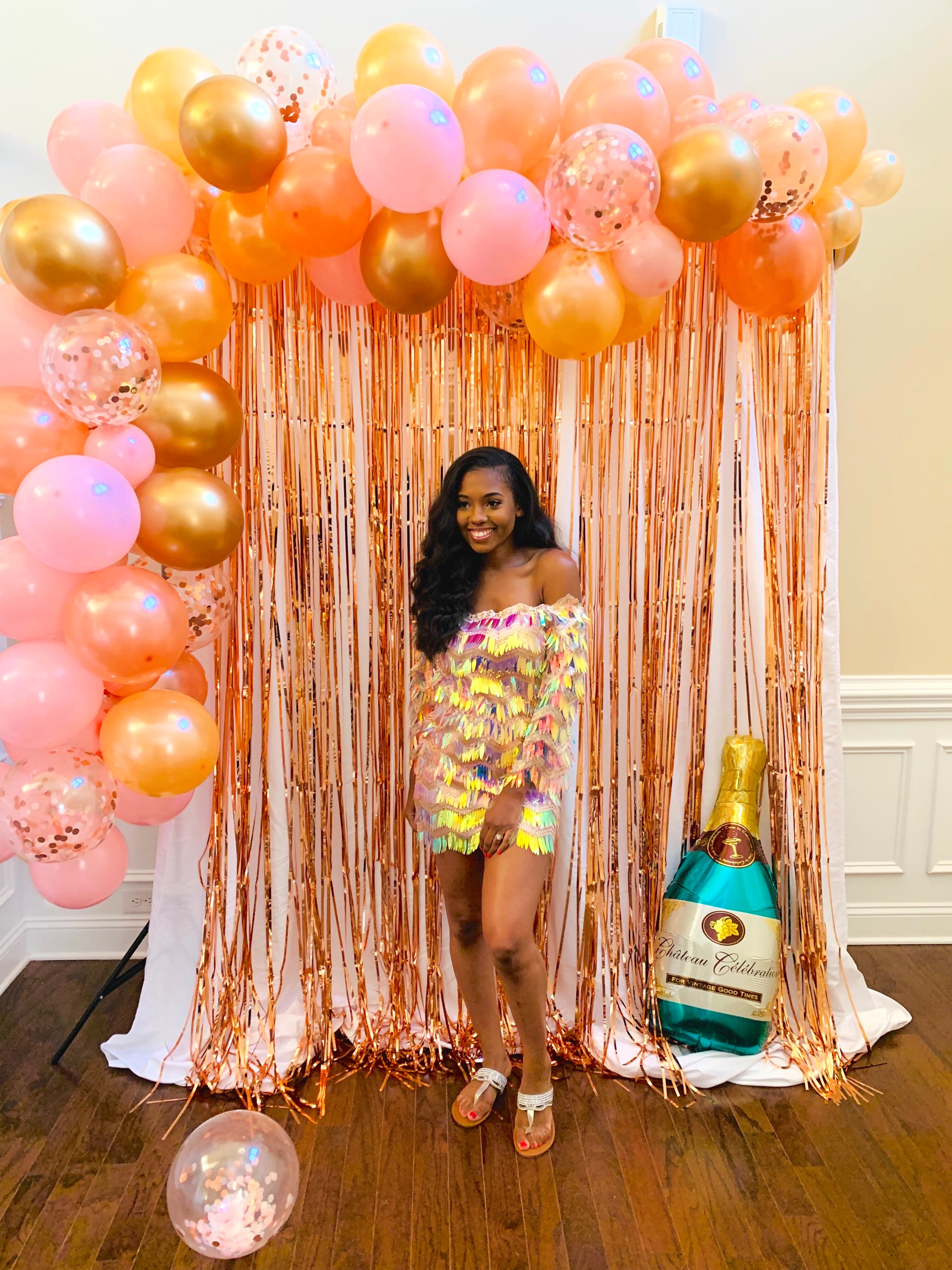 Brittany Jenkins Just Being Britt Champagne Rosé 30th Birthday Party