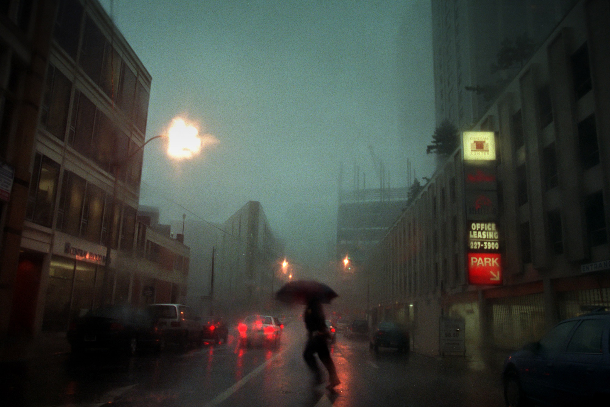 Rainy day in Pittsburgh.
