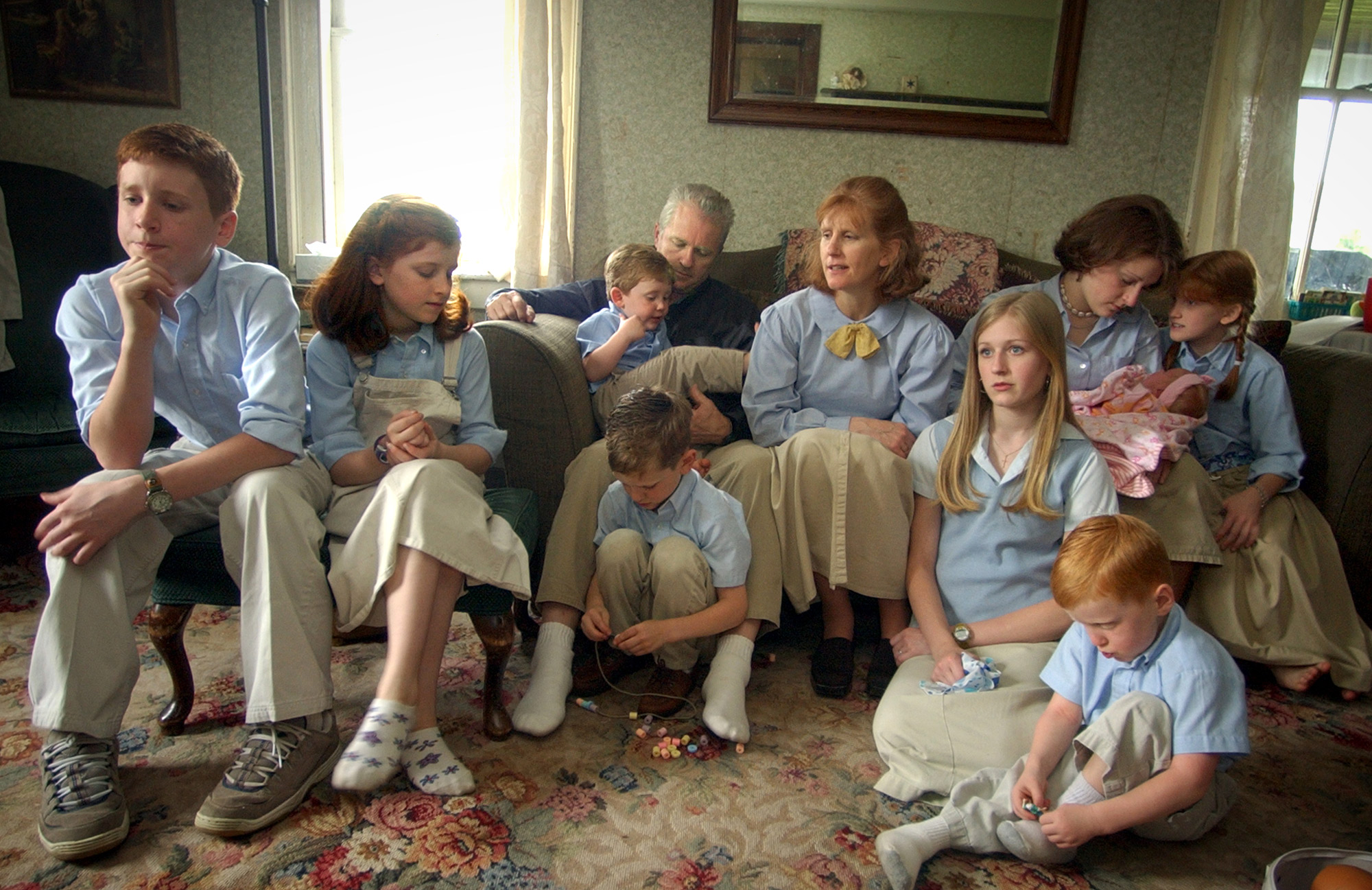The Gordon family of Harmony, PA.