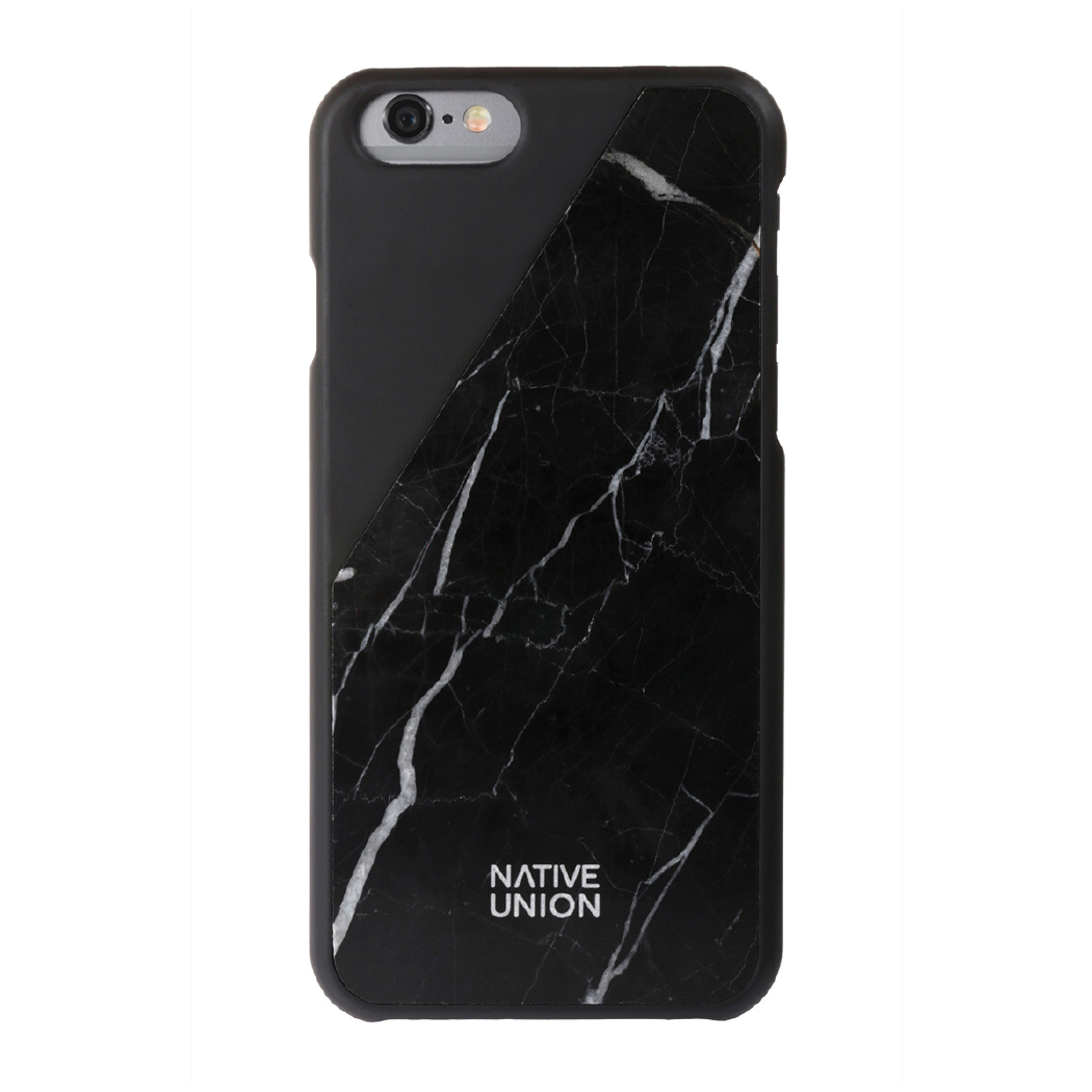 Gift Guide For The Simple Girl - 2016 - Black Real Marble iphone case