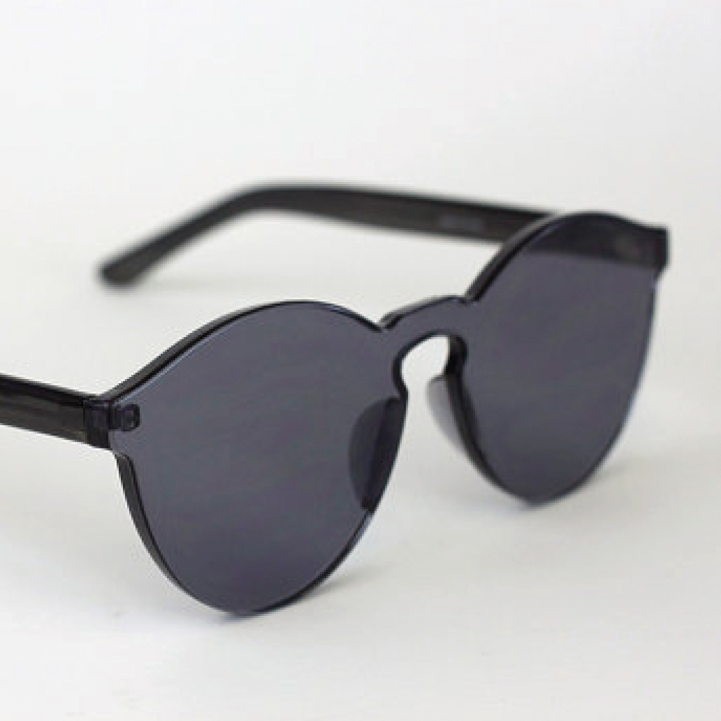 Gift Guide for Her 2016- Simple and Modern Trendy Black Graphite Sunglasses