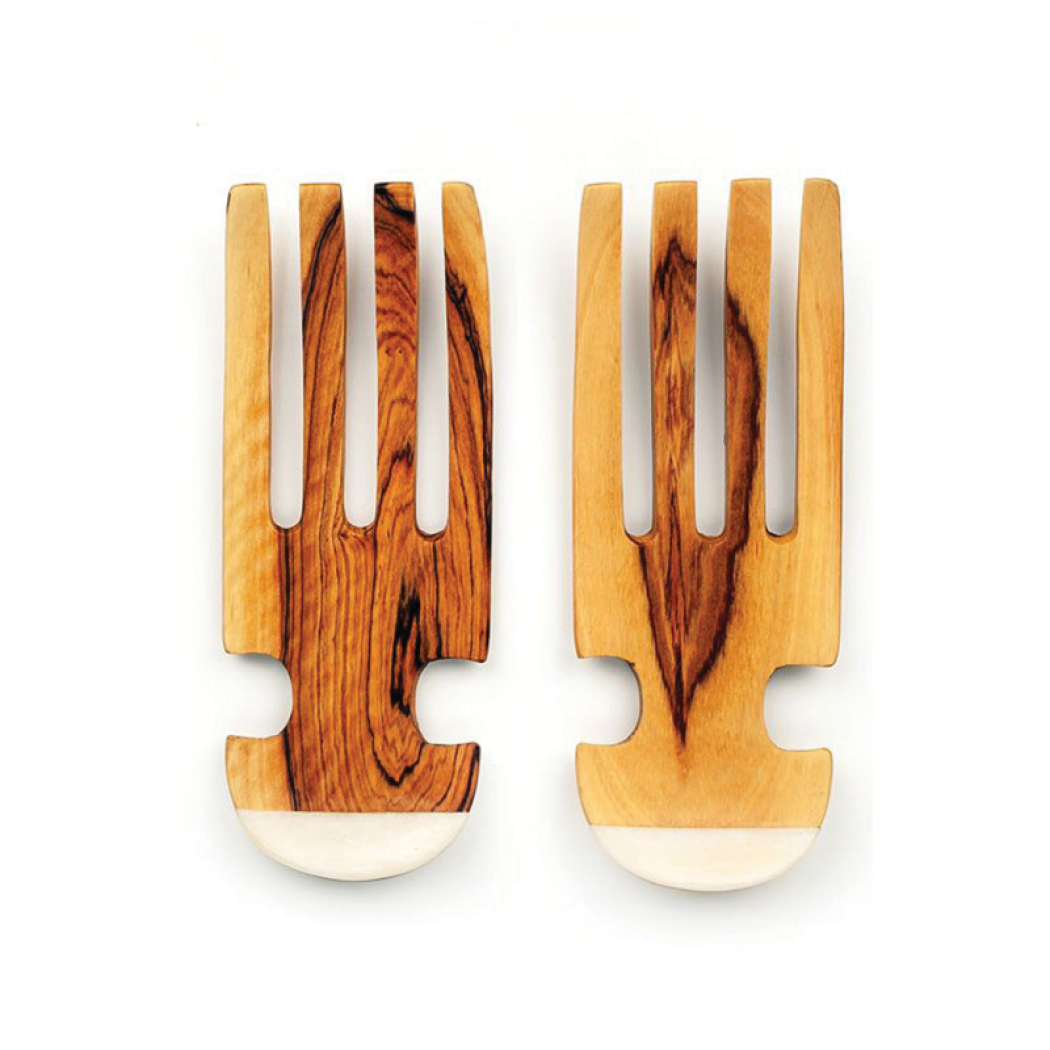 Gift Guide 2016- For the Chef or Home Cook- Olive Wood Salad Fork Tossers