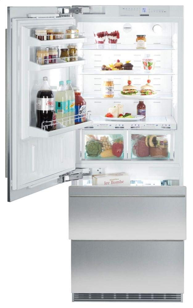 liebherr 30 inch refrigerator - fully integrated counter depth fridge with panel ready features  for the savvy heart kitchen remodel