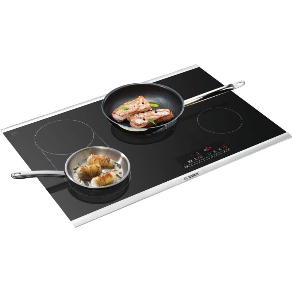 Stove top - bosch smooth electric stove in black for kitchen remodel by the savvy heart.jpg