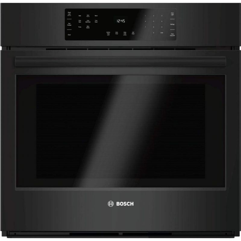 bosch black wall oven 30 inches for a modern home.jpg
