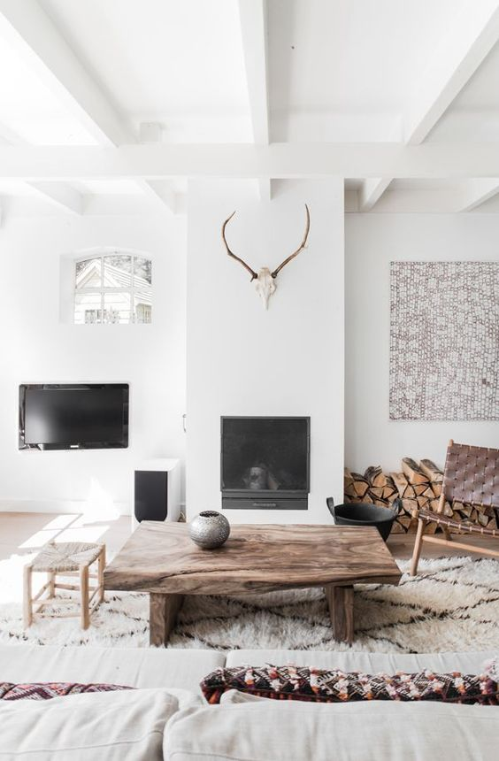 Timeless and simple Fall to winter decorating ideas