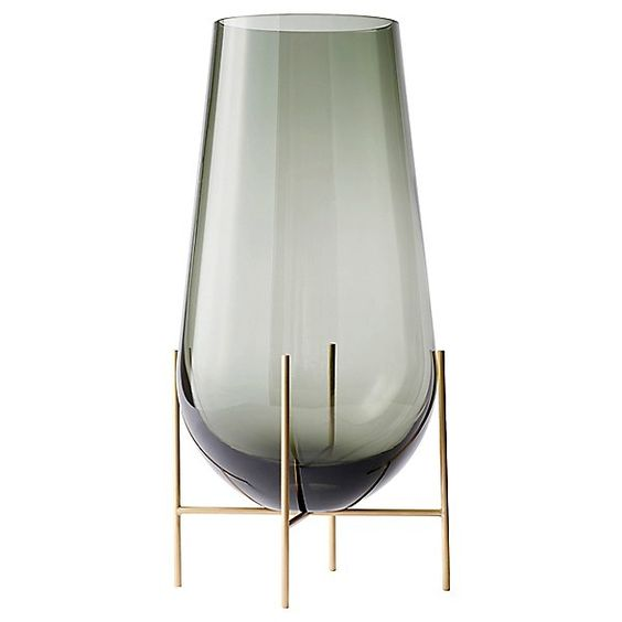 Menu echasse glass and brass tall slim vase for flowers or branches.jpg