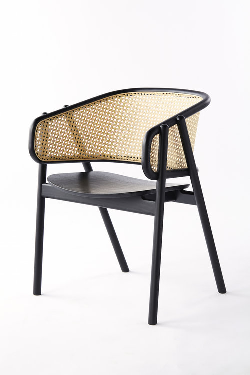 Black and Woven Cane Rattan Armchair - Timeless Furniture for your Modern Home - Spring 2019 Trends