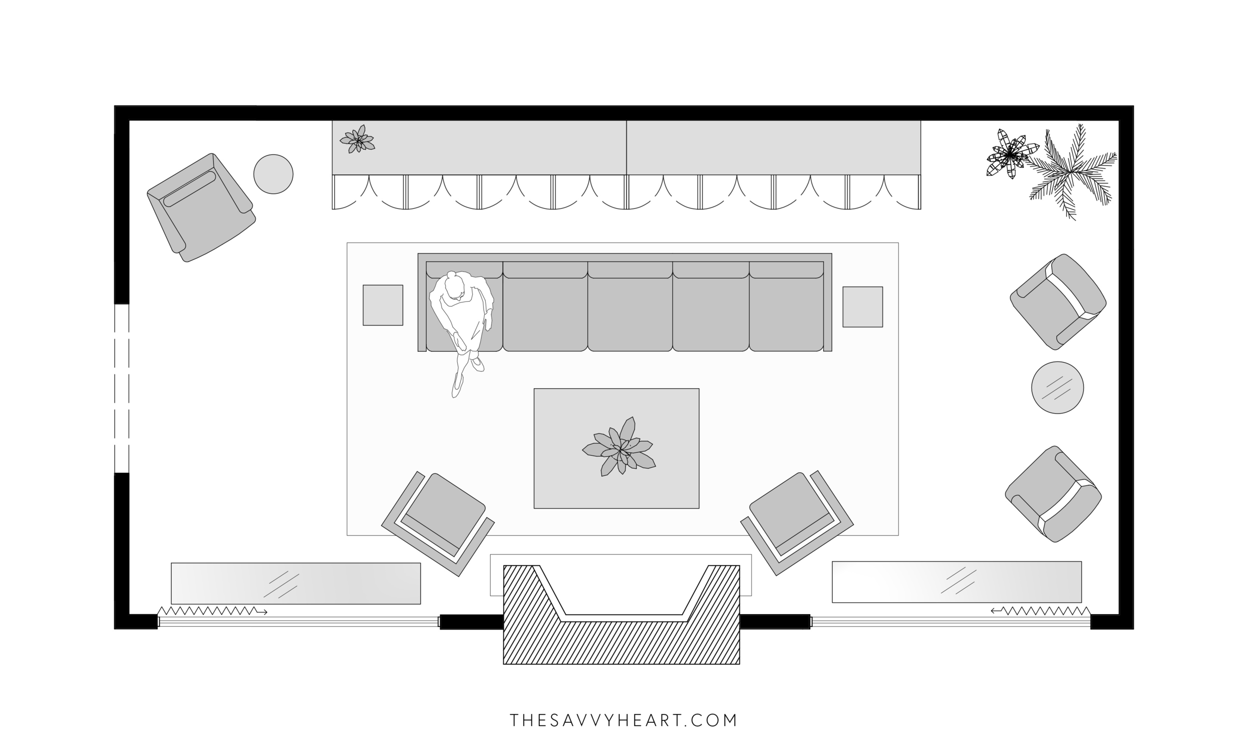 Wtsenates Extraordinary Small Rectangular Living Room Layout In Collection 5861