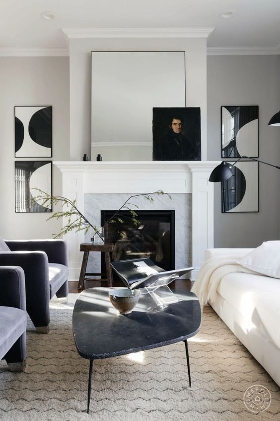 Modern Eclectic living room combining masculine and feminine styles.jpg