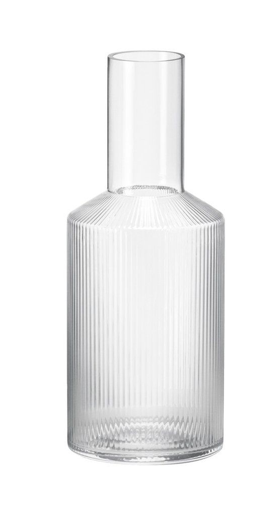 Ripple and ribbed carafe for water - fluted glass interior trends of 2019 and 2020 by the savvy heart.jpg