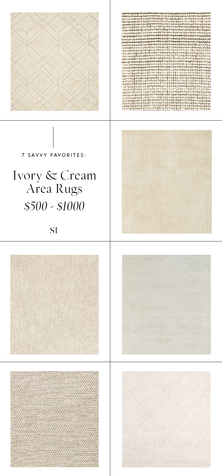 Minimal and textured ivory and off white area rugs for your living room from $500 to $1000.png