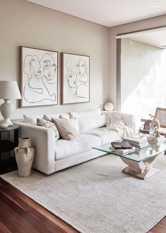 5 Tips For Decorating With Different Shades Of White & Cream — The Savvy Heart