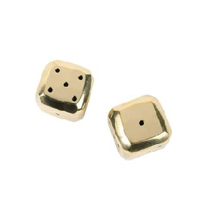 Brass Dice - Chic entertaining must haves for hosting and serving by the savvy heart