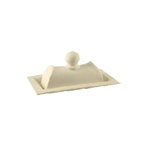 sculptural butter dish - Chic entertaining must haves for hosting and serving by the savvy heart