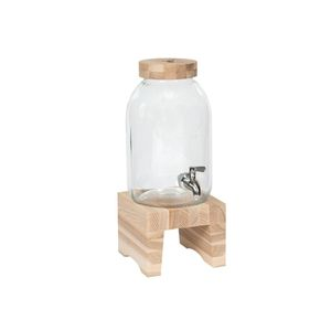 Water and drink dispenser on platform - Chic entertaining must haves for hosting and serving by the savvy heart