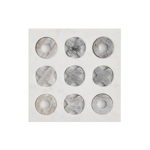 Marble Tic tac toe board -Chic entertaining must haves for hosting and serving by the savvy heart