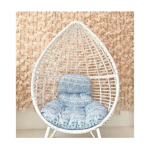 Ready in time for Spring!  We're just putting the finishing touches on our updated lobby. This cozy egg chair makes this the perfect relaxation zone before your appointment!