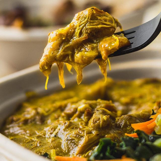 They asked us what heaven looked like we said hold up. #foodie #foodporn #curry #organic #tastetheriddim #beorganic