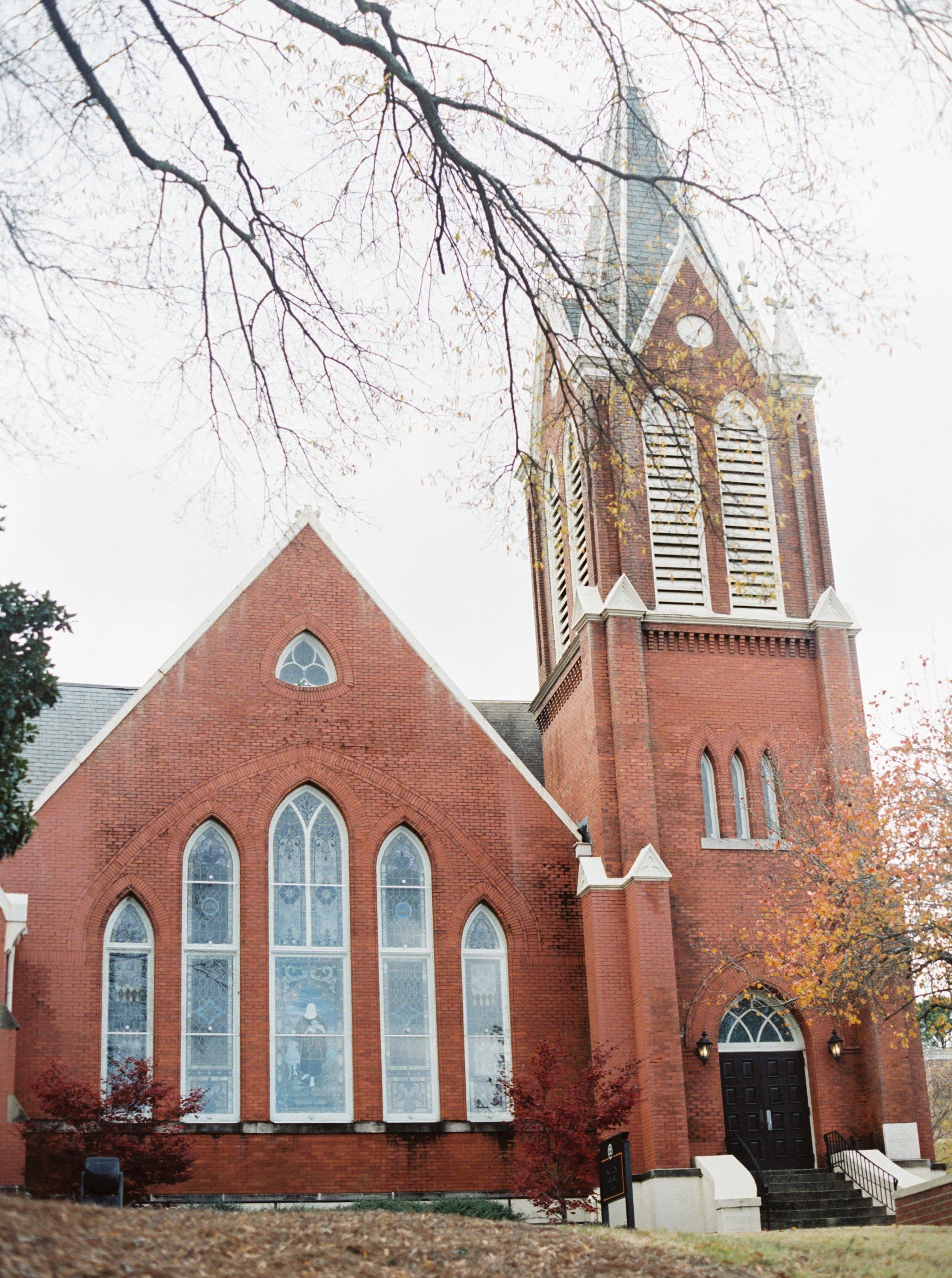 Newton Chapel Wedding