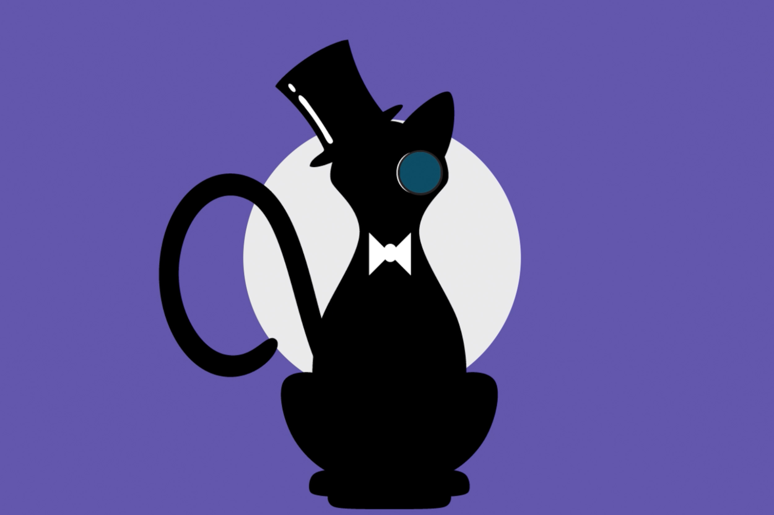Mr. Whiskersons Cat Cafe - Identity Design // Motion Graphics
