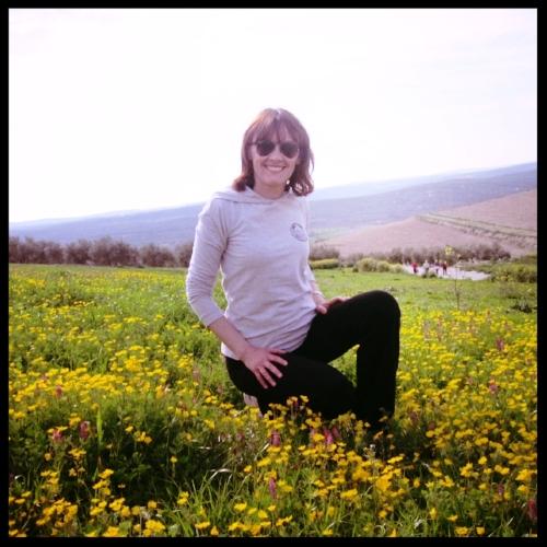 En el campo - Disfrutando de esos paseos por la naturaleza que tanto me gustan.