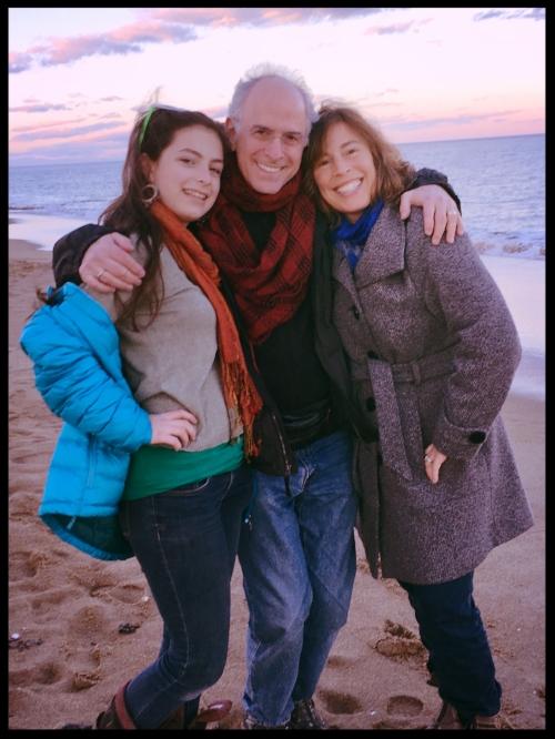 Con mi hija Sofía y mi esposo Stefan