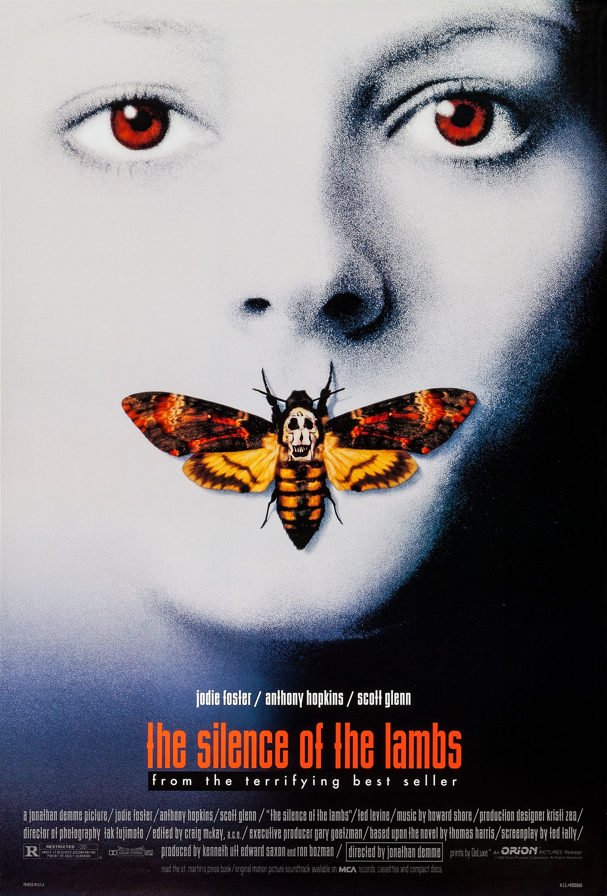 Silence of the Lambs (1991) - Sunday 27th & Tuesday 29th OctoberParlour, Kensal RiseFeed your inner cannibal this Halloween, with some fava beans and some nice Chianti.Priority tickets available on Thursday 3rd October - £55