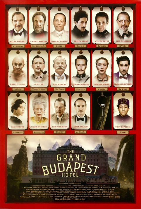 The Grand Budapest Hotel (2014) - Tuesday 12th and Sunday 17th NovemberParlour, Kensal RiseAllow us to transport you to 1930s 'Zubrowka', where we'll be serving up some Wes Anderson-esque delights, of which even M. Gustave would approve.Priority tickets available on Thursday 18th October - £55