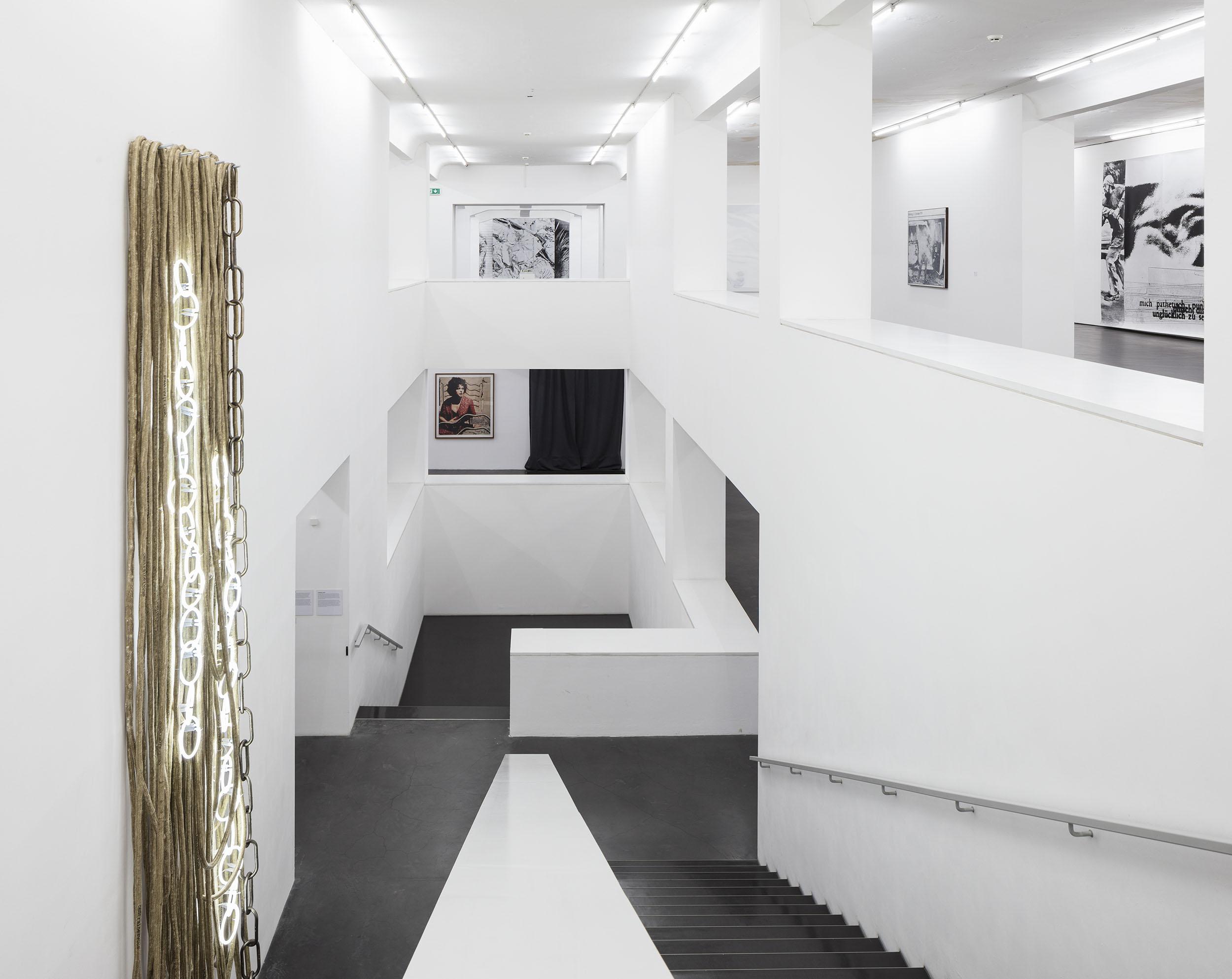 Astrid Klein. TRANSCENDENTAL HOMELESS CENTRALNERVOUS, Deichtorhallen, HH, Sammlung, Falckenberg, 2018