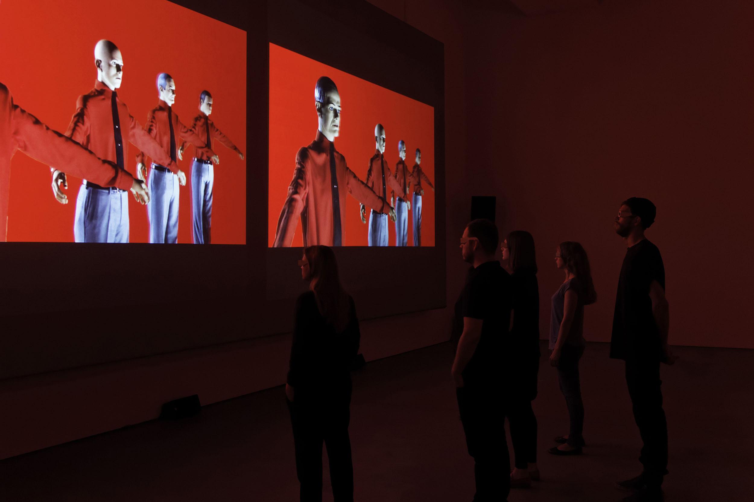 Kraftwerk. 3-D Video-Installation 12345678 - Sprüth Magers Berlin, 2013