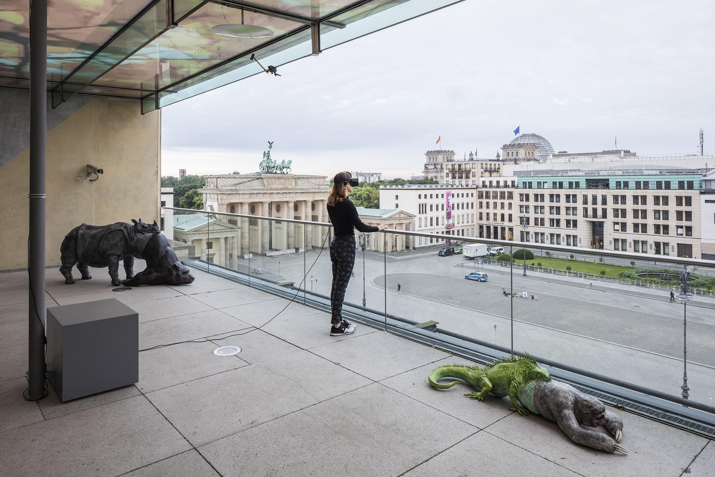 Jon Rafman. L'Avalée des avalés (The Swallower Swallowed) Rhino/Bear, Berlin Biennale 9, 2016