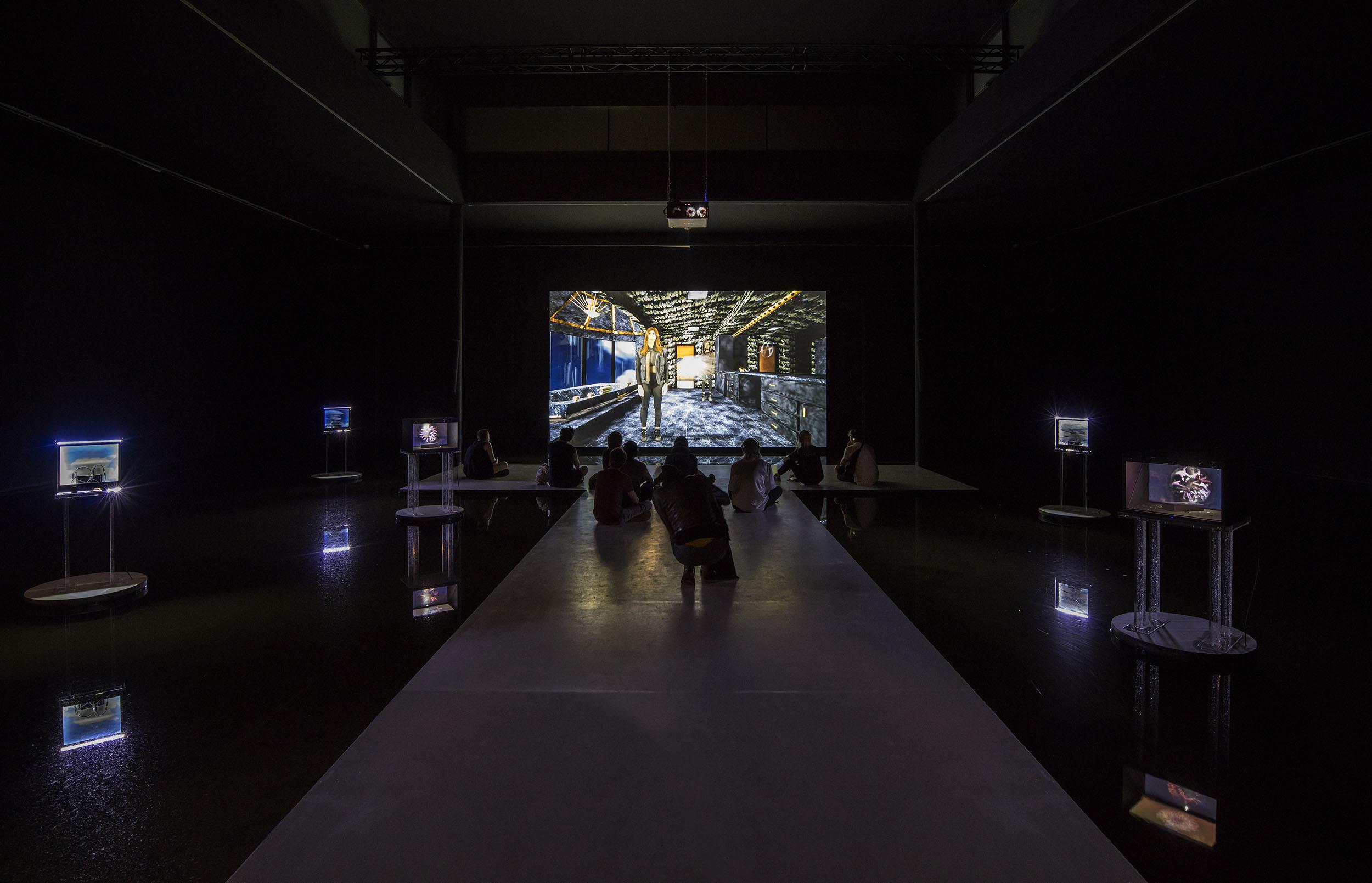 Cecile B. Evans. changed, Berlin Biennale 9, 2016