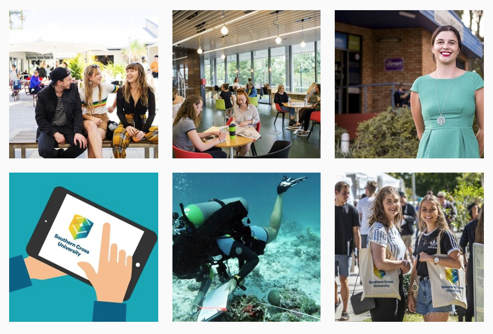 Southern Cross University Instagram