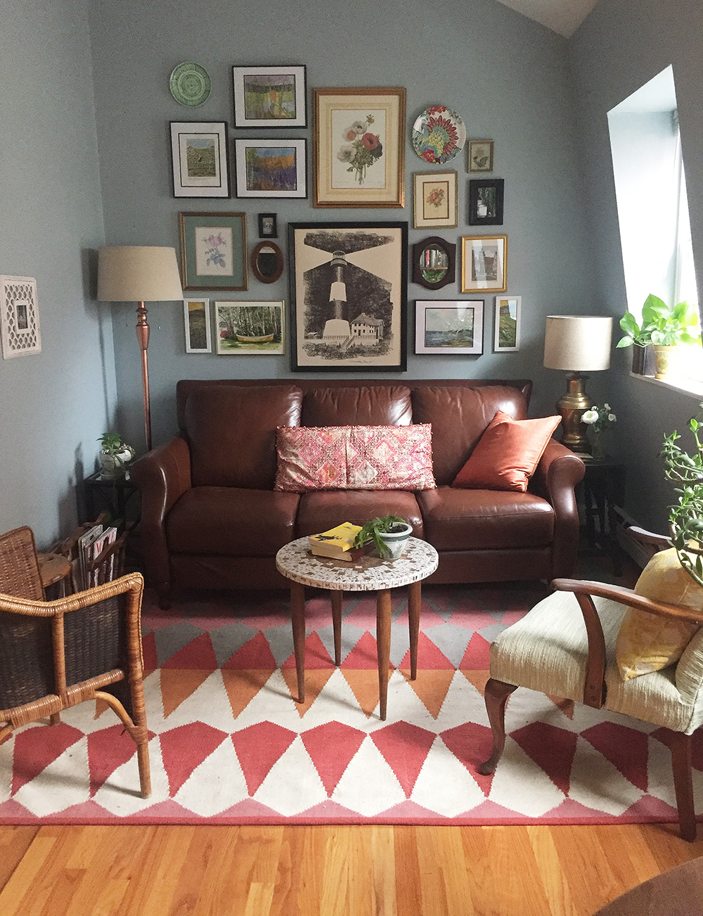 Rosemary's Petite Living Room: After