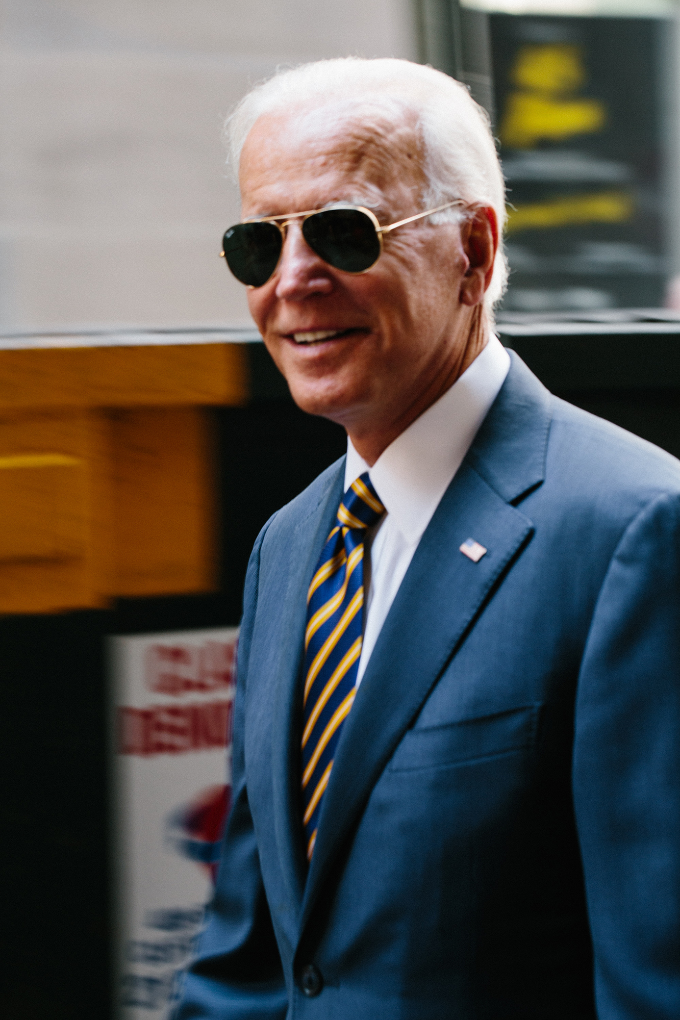 Joe Biden / Walking With The Wounded