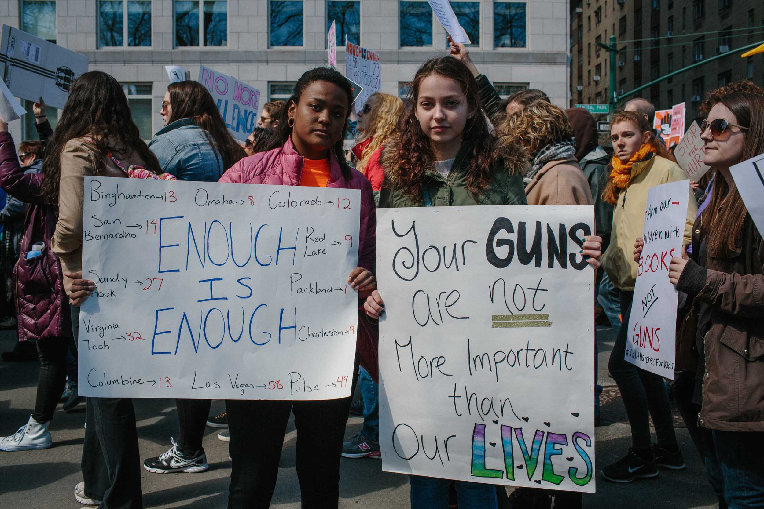 March For Our Lives / InStyle