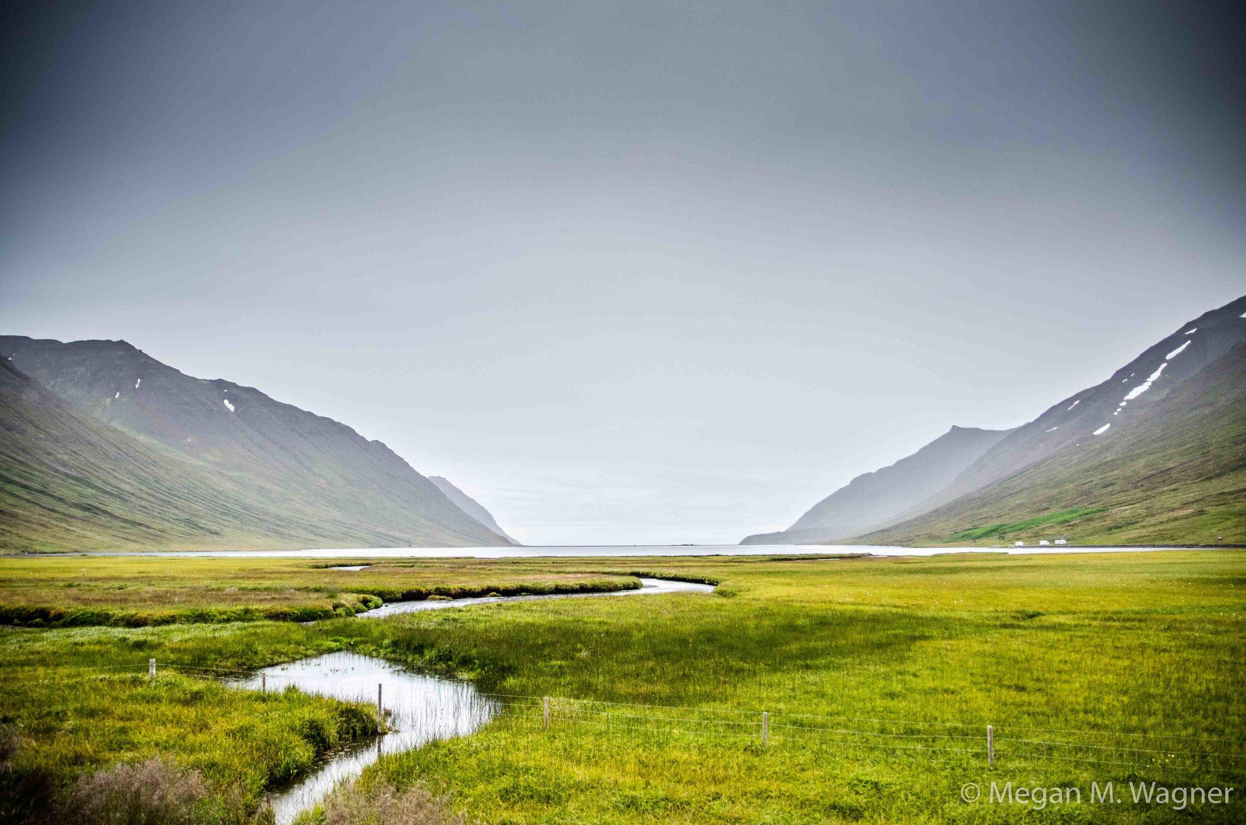 Fjords near Fjallabyggð