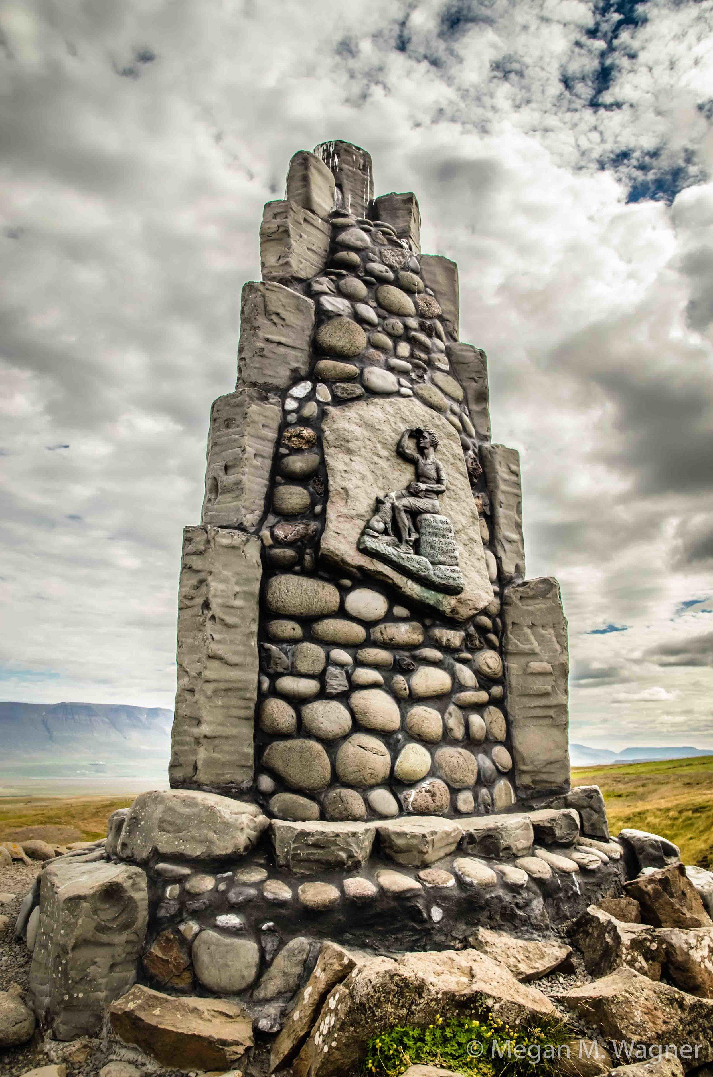 Stephan G Stephansson Monument