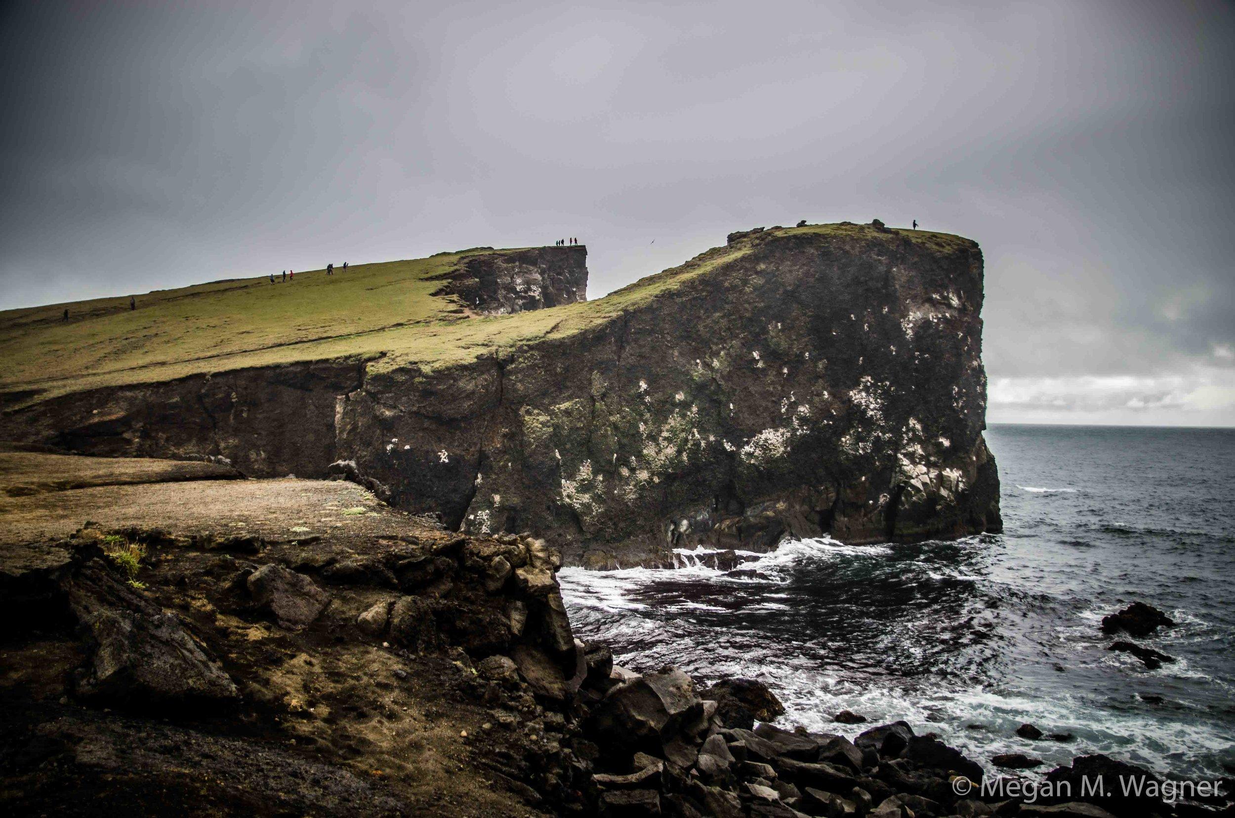 Reykjanes Light House Cliffs