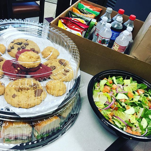 Oasis deli catering #cater #food #lunch #party #work #office @delivery #sandwiches #cookies #salad #drinks