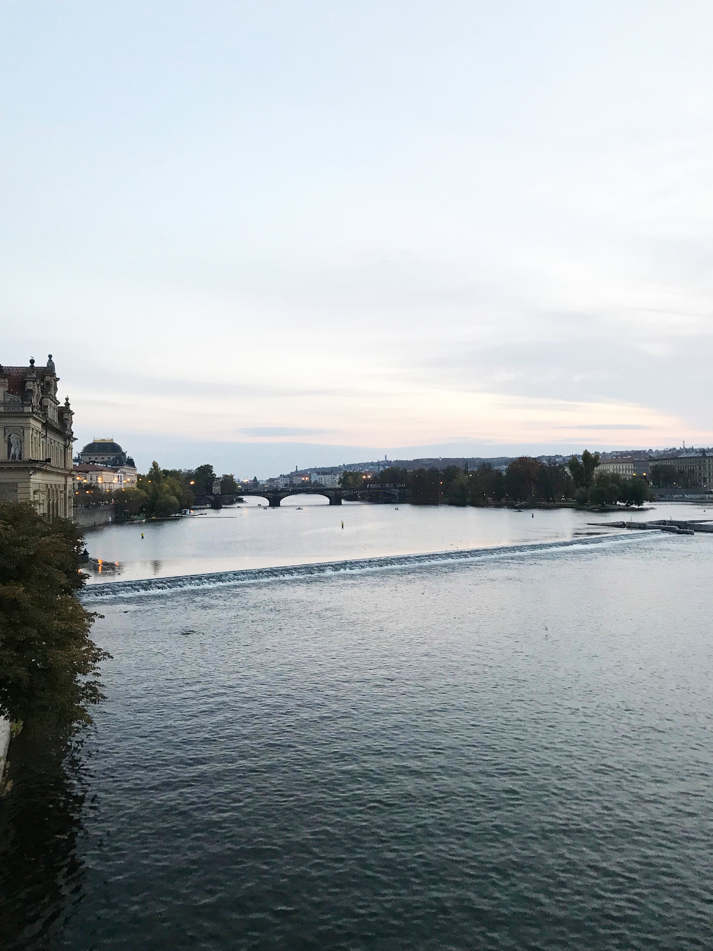After filling our bellies, we walked across the Charles Bridge. Can't explain in words how beautiful it is.