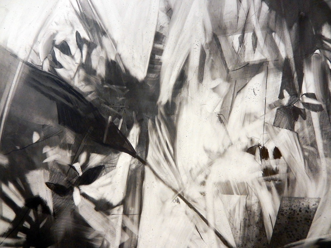 Jill Lavetsky, detail of  Among the Sabals