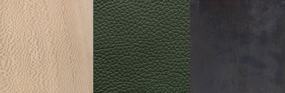 Sycamore | Bank of England Green Leather | Hand Blackened Steel