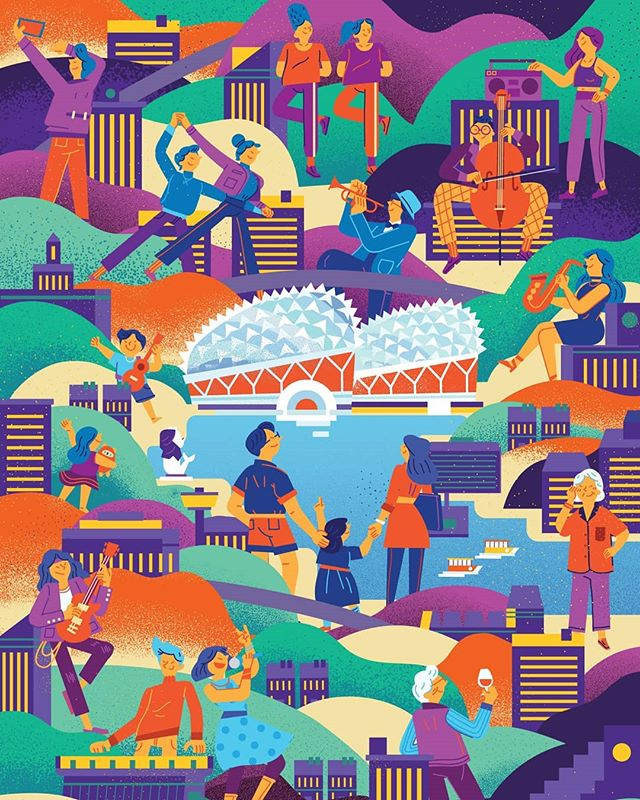 Serving up good music day & night. Illustration for Esplanade's MyDurian membership programme. . . . . #illustration #illustrations #illustratoroninstagram#illustragram #artdiscover #illustrationartist #illustrationnow#theillustrationroom #illustrationhowl #illustratrice#illustrationoftheday #illustratorsoninstagram #instartist #instartists #artsanity #visualartist #creativeart#art_spotlight #artistoninstagram #artstagram
