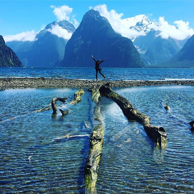 Not many places inspire me to #photojump. #MilfordSound is one of them...